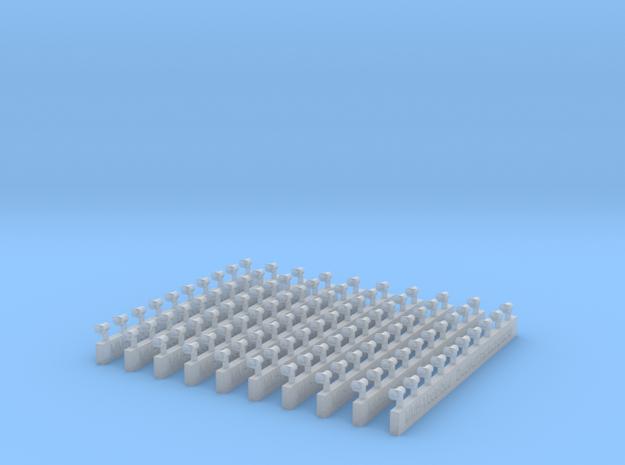 Druckkammerlautsprecher klein 10x für LF,DLK  in Smooth Fine Detail Plastic