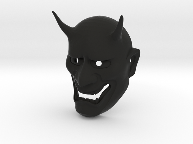 Japanese Hannya demon mask