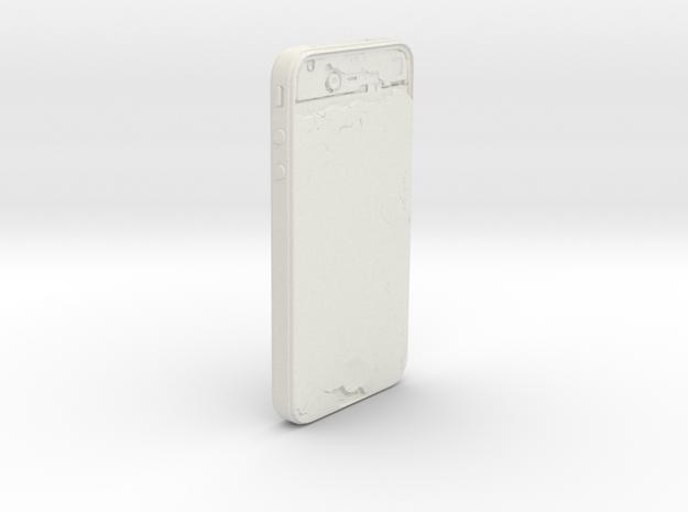 iPhone 4 in White Natural Versatile Plastic