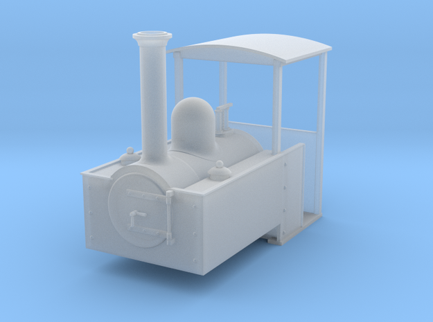 O9 decauville steam loco 3d printed
