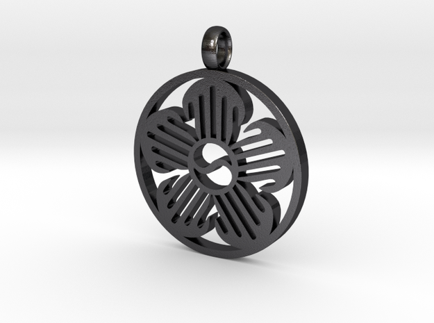 Immortal Flower Pendant 3d printed