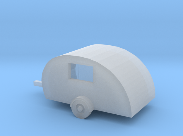 Z Scale Scotty Lite Traveltrailer 3d printed