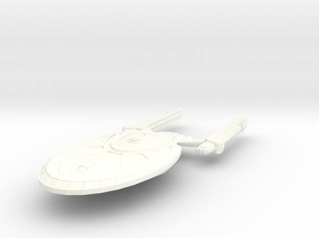 USS Union in White Processed Versatile Plastic