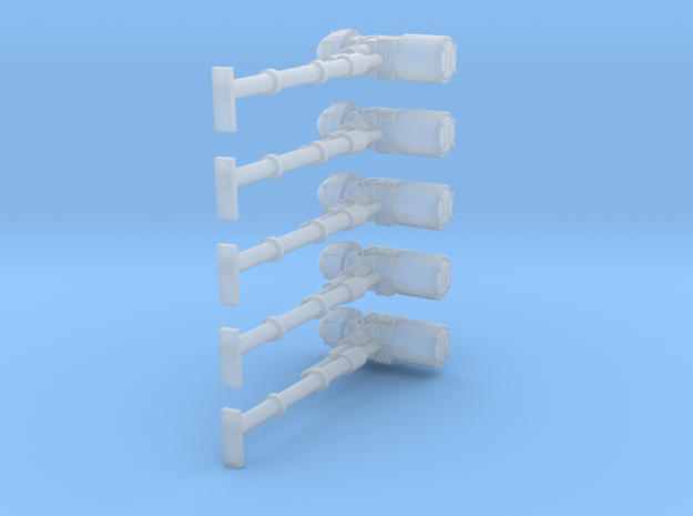 Angry Marines Smite Hammers (x5) 3d printed