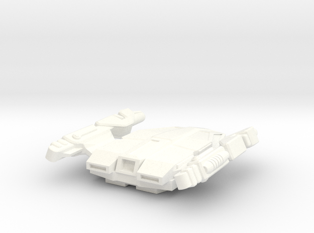 24th Century Shuttle Type H-3 in White Processed Versatile Plastic