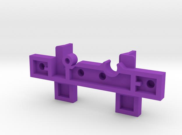 Lego rail narrow 3d printed