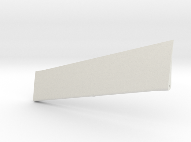 Wind Skimmer - Right Aileron in White Strong & Flexible