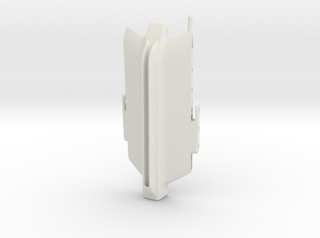 Tail Core - Wind Skimmer in White Natural Versatile Plastic