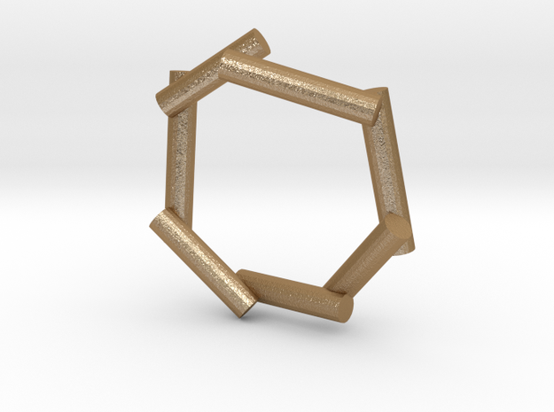 Stick ring 3d printed