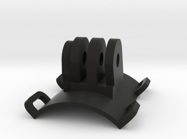 """1.5 """" Tube Clamp GoPro longitudinal 3d printed"""