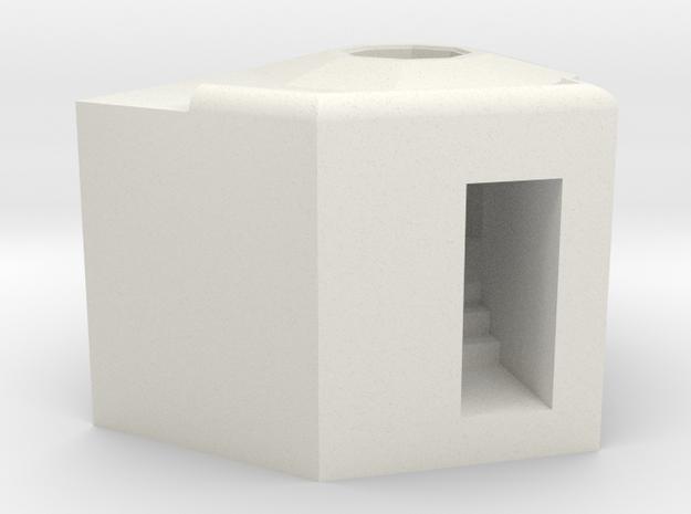 1/144 Bauform 206 (61a alt) Ringstand  in White Natural Versatile Plastic