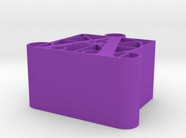 A - PENCIL HOLDER - DURER ALPHABET 3d printed