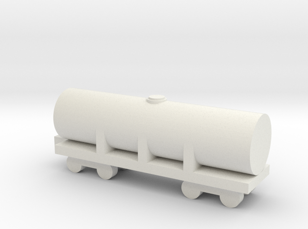 1/700 Oil Tank in White Natural Versatile Plastic