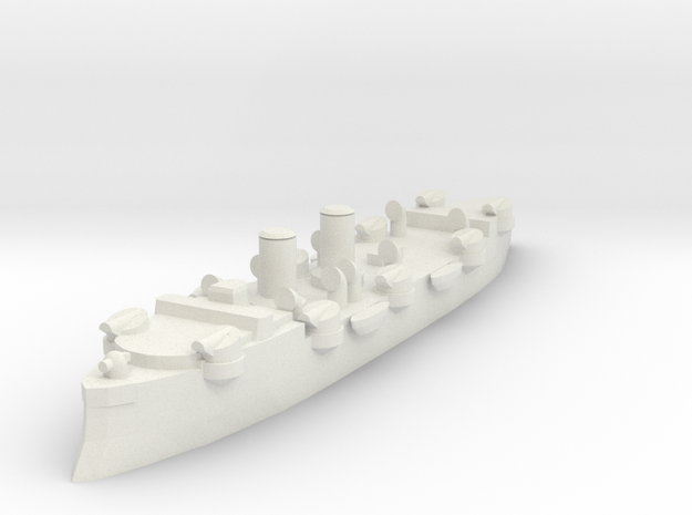 USS Baltimore (C-3) 1:1200 x1 in White Strong & Flexible