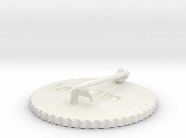 by kelecrea, engraved: jarolin 3d printed