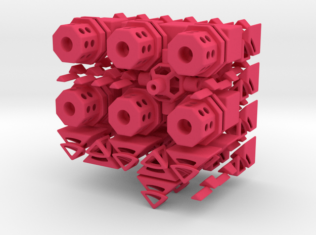 OctoCube Puzzle 3d printed