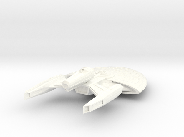 USS Lawson in White Processed Versatile Plastic