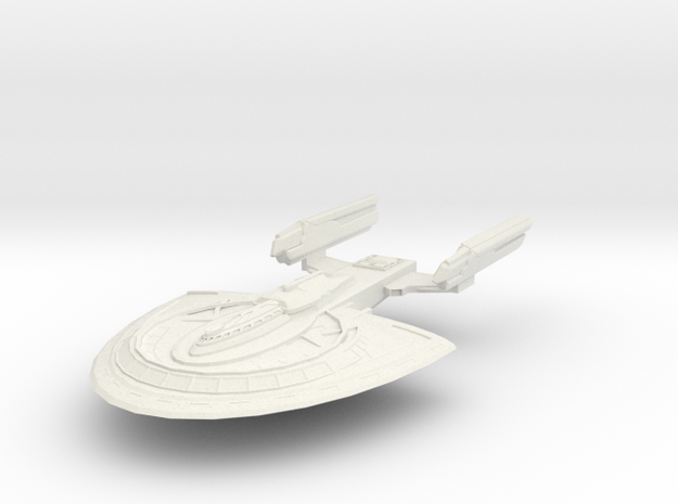 Bellatrix Class HvyDestroyer in White Strong & Flexible