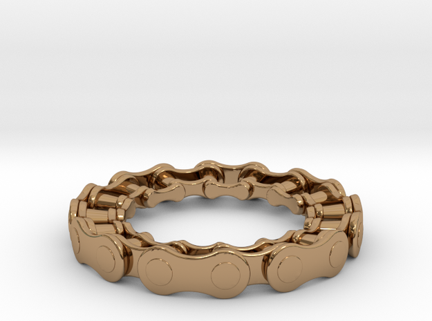 RS CHAIN RING SIZE 8.5 3d printed