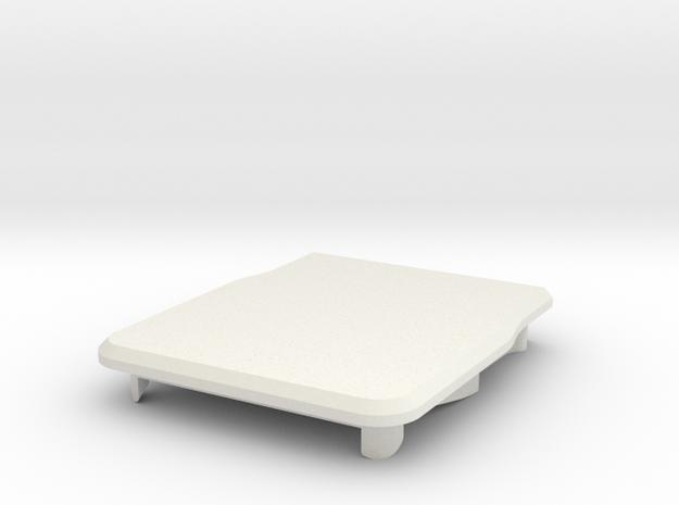 blink(1) enclosure top in White Natural Versatile Plastic