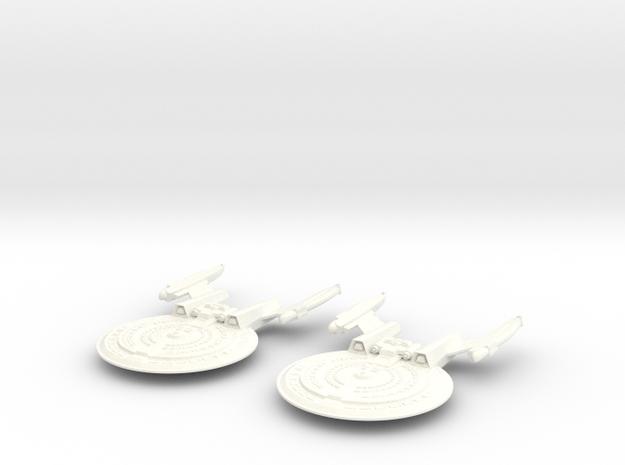 2 HARBINGER CLASS VESSELS in White Processed Versatile Plastic