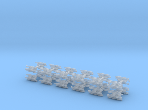 1/600 BLU-107 (Multiple Ejector Rack) (x24) in Smooth Fine Detail Plastic