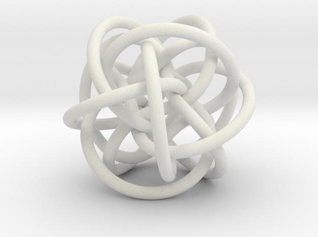 Tetra-Twistor TT+02 in White Natural Versatile Plastic