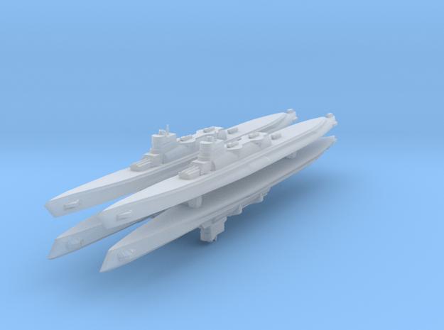 Bywater's Nagasaki Cruiser Submarine 1:2400 x4 3d printed