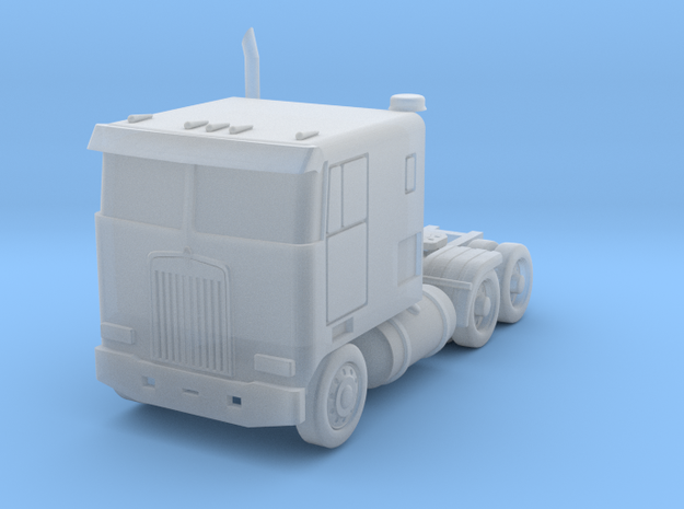 Kenworth Cabover Semi Truck - Zscale 3d printed