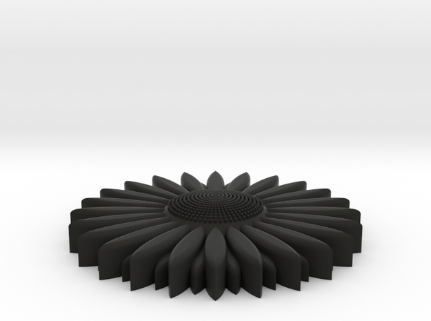 sunflower 3d printed