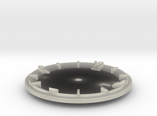 watch dial 1 3d printed