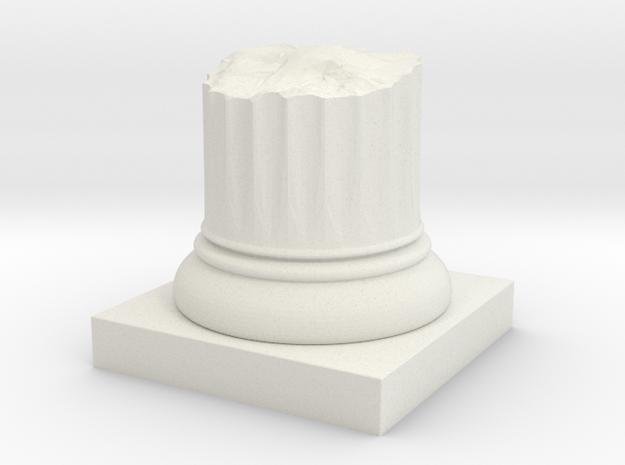Broken Pillar Stump 3d printed