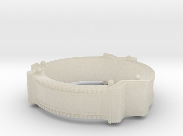 Bookring (size 8.5) 3d printed