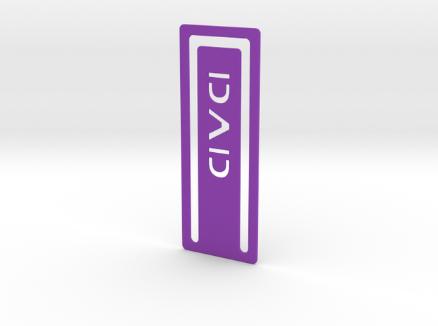 Bookmark Dad 3d printed