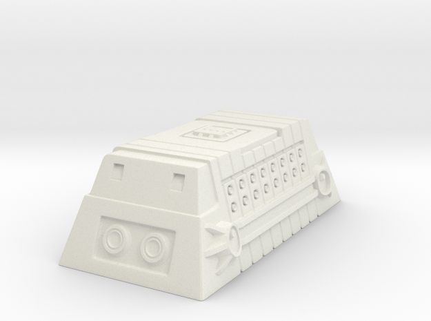 Class-A Cargo Container in White Natural Versatile Plastic
