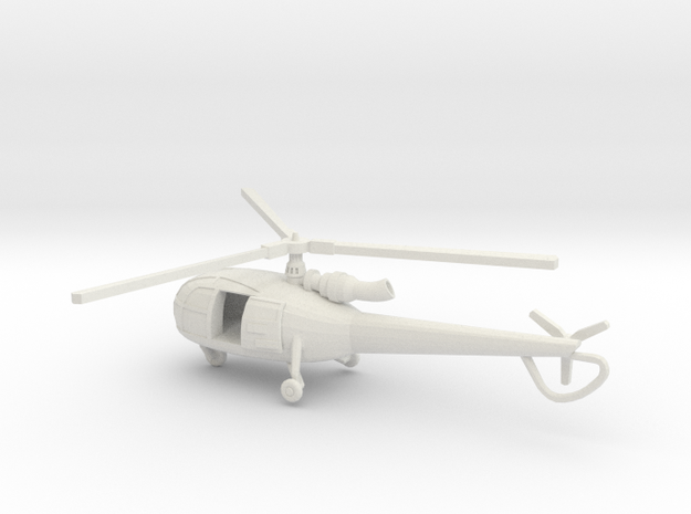 1:144 Alouette3 OPEN TRANSPORT 3d printed