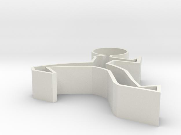 Smartphone Holder in White Natural Versatile Plastic