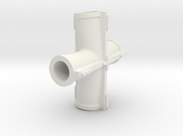 Zentrum Klemmklotz2 in White Natural Versatile Plastic