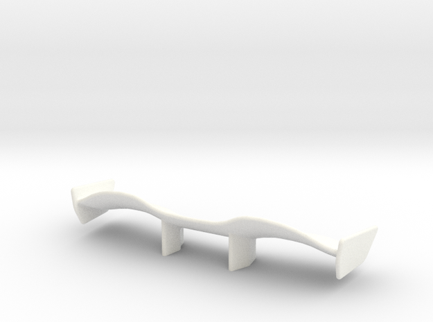 V1 Racer Wing 2.9 in White Processed Versatile Plastic