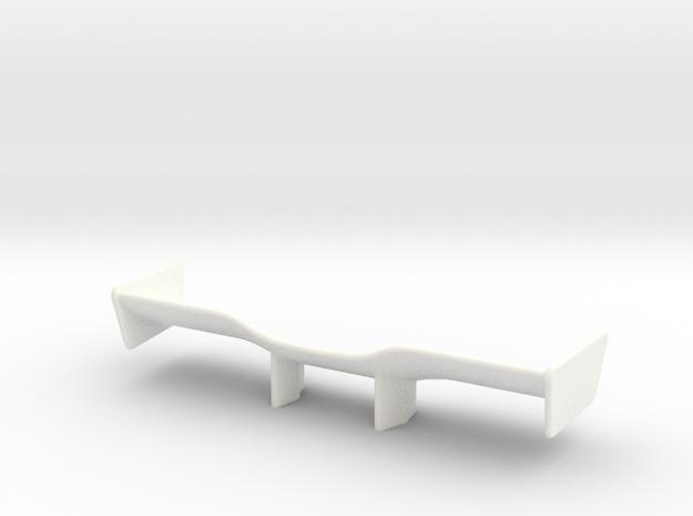 V2 Racer Wing 2.9 in White Processed Versatile Plastic