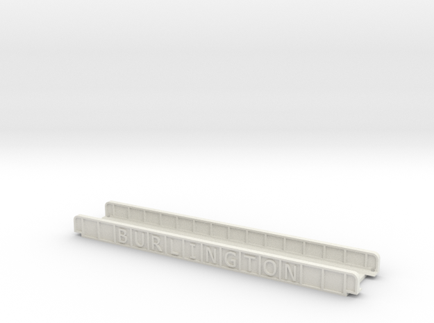 BURLINGTON 165mm SINGLE TRACK in White Natural Versatile Plastic