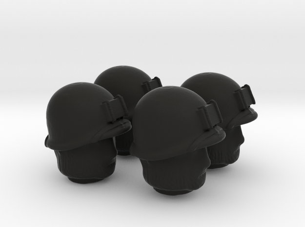 4 US marines head for lego 3d printed