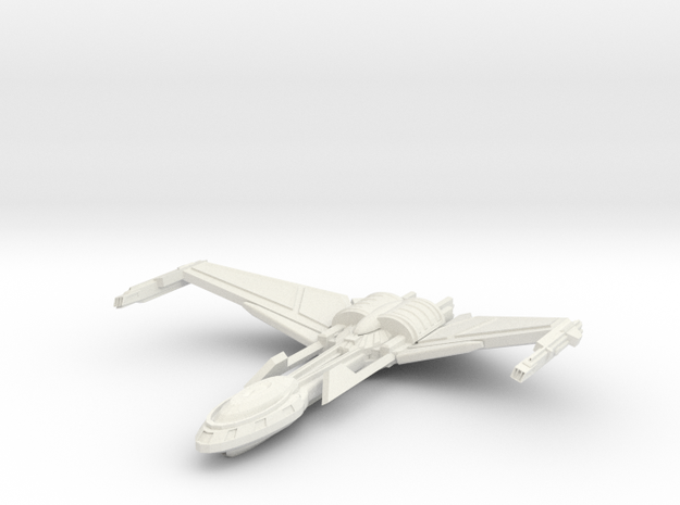 Bird Of Pray Class Cruiser Wings Up 3d printed