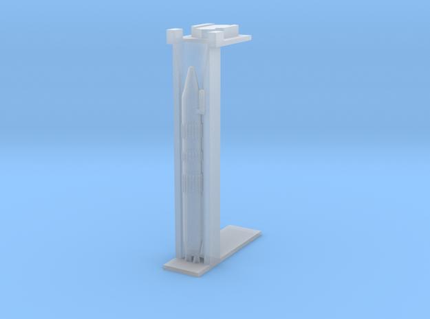 1/700 LGM-25C Titan II ICBM Silo Cuttaway in Smooth Fine Detail Plastic
