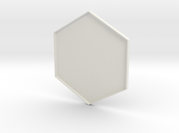 Hex Holder Lid in White Strong & Flexible