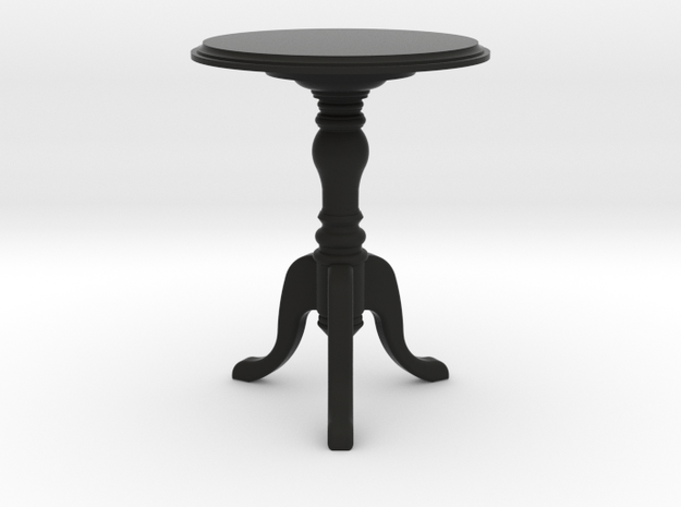 1:24 Colonial Side Table 3d printed