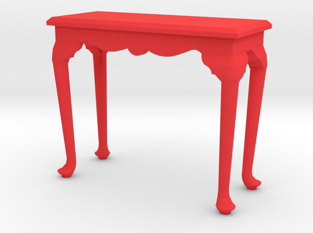 1:24 Queen Anne Fancy Console Table, Medium 3d printed