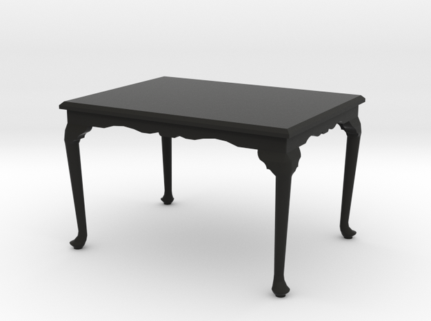 1:24 Queen Anne Dining Table, Medium 3d printed