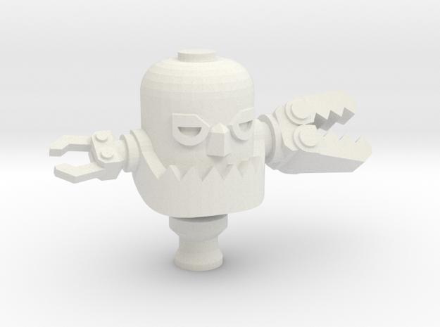 Copy Of Robots in White Natural Versatile Plastic