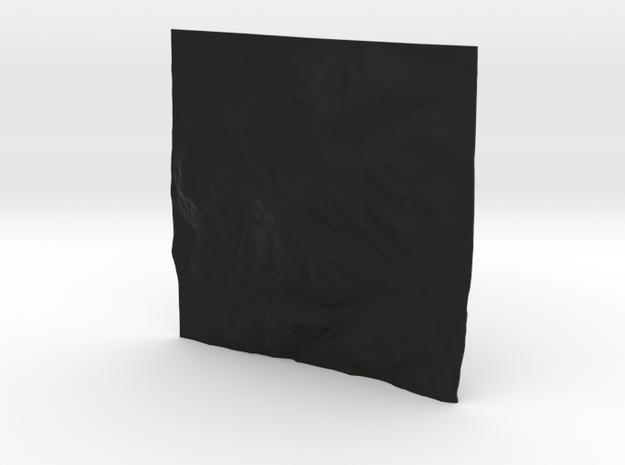 4'' Whiteface Mtn. Terrain Model, New York, USA 3d printed